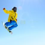 snowboard zıpla